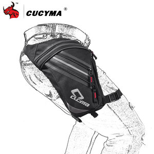 Image 3 - CUCYMA Motorcycle Bag Phone Case Purse Belt Male Waist Bags Motorcycle Leg Bag Outdoor Long distance Bag Leg CB 1603