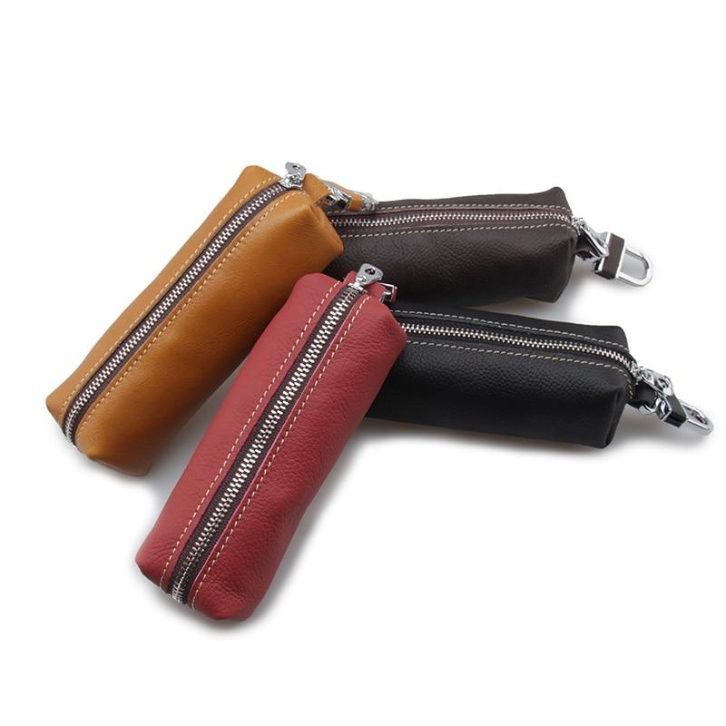 2018 brand housekeeper for font b keys b font purse quality geniune leather women s keychains