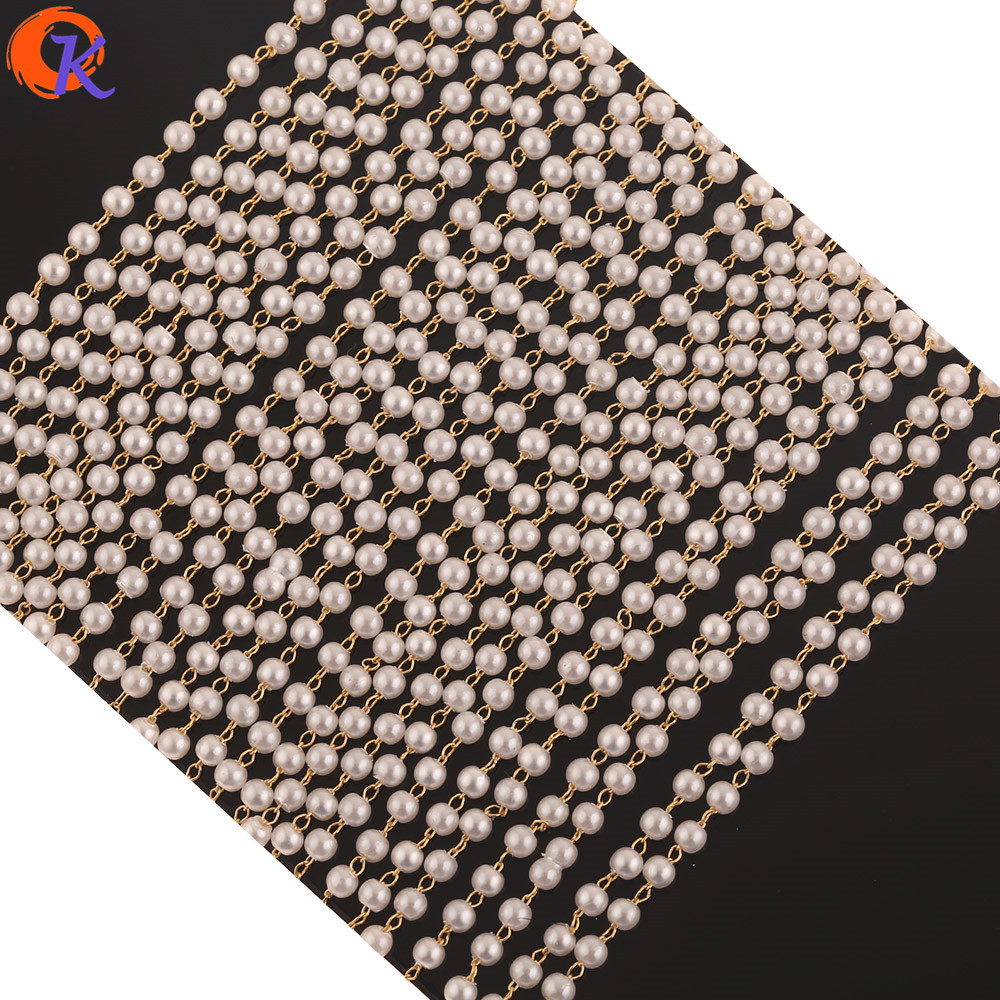 Cordial Design 5M/Lot Jewelry Accessories/Chain/Genuine Gold Plating/Imitation Pearl/DIY Making/Hand Made/Earrngs Findings