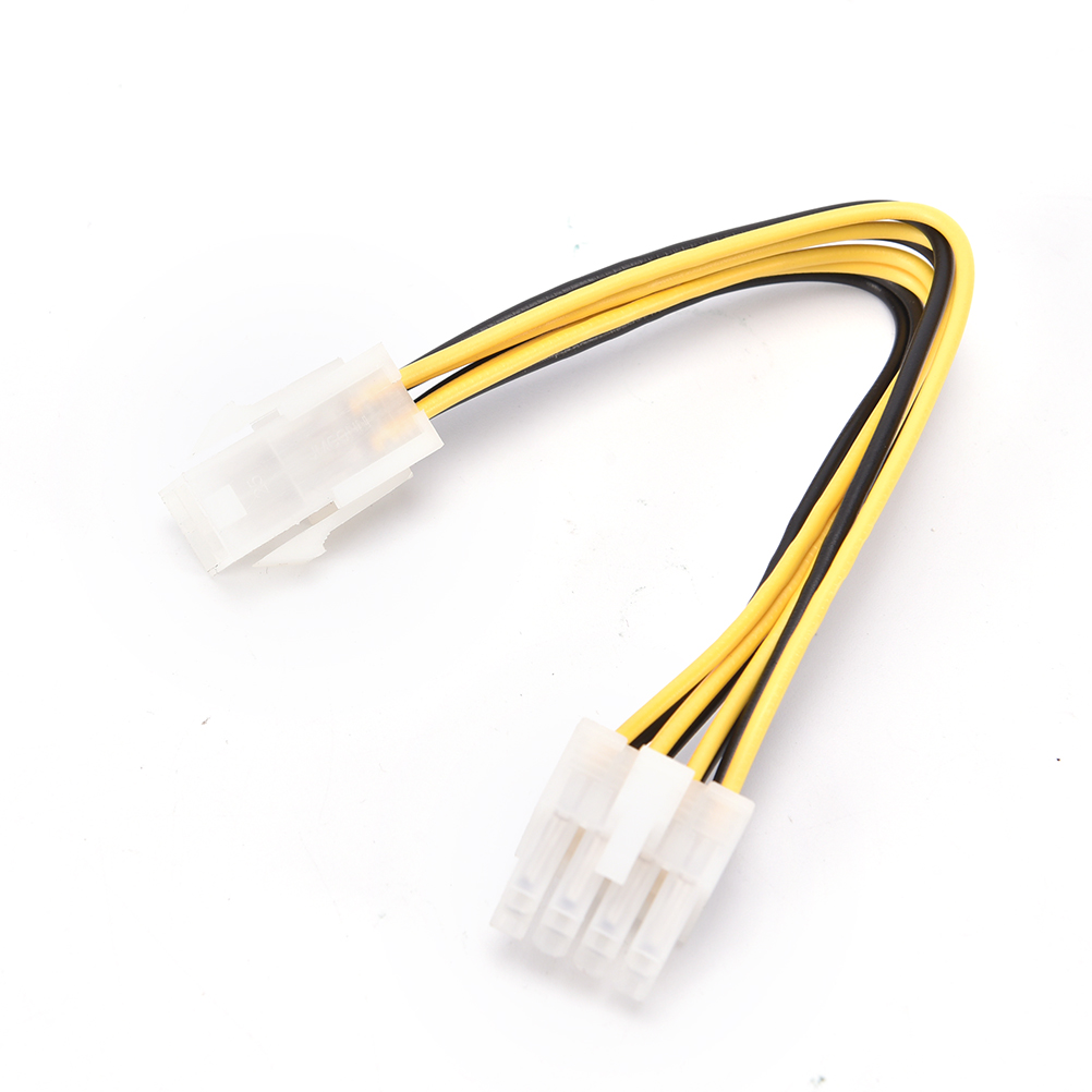 1 Pc Female EPS CPU Power Converter Cable Lead Adapter ATX 4 Pin Male To 8 Pin 12V ATX P4 To EPS 8pin