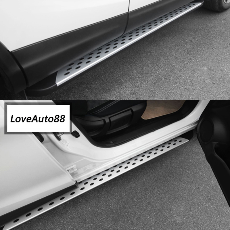 For Nissan Qashqai J11 2019 Car Running board Side Step Foot Pedal Board Auto Bar Pedals Accessories