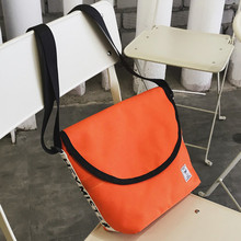 2019 tide version men and women shoulder Messenger bag canvas Korean version of the explosion large capacity mobile phone bag le цена 2017
