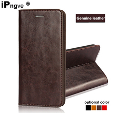 ipngve Handmade Wallet Flip Cover Case For Samsung galaxy a7 2018 Case Genuine Leather Phone Bag Fundas For galaxy a7 2018 A750