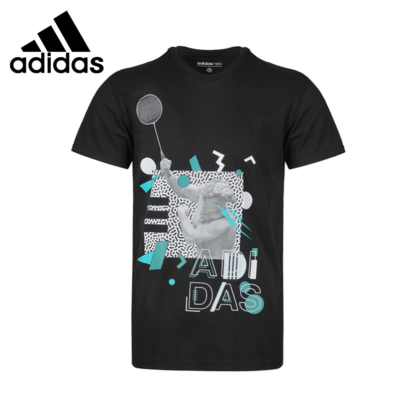 Original New Arrival  Adidas NEO M FAV PHOTO TEE Men's T-shirts short sleeve Sportswear