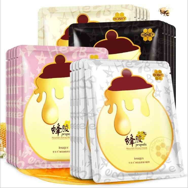 2 PCS Hydrating Facial Mask Treatment บำรุง Honey Moisturizing Face Mask Oil Control เกาหลีฤดูใบไม้ผลิ Rain Mask
