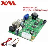 XM 5.0MP 16 Ch NVR H.265 Network Video Recorder 16Channel 1080P NVR,HDMI Output,NVR BOARD,Support Onvif,Mobile monitoring