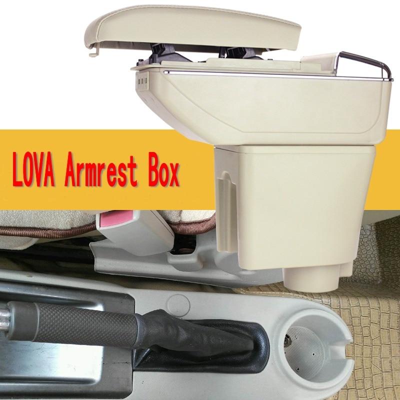 För Chevrolet LOVA armstödslåda centralt Lagra innehåll Lagring - Reservdelar och bildelar - Foto 2