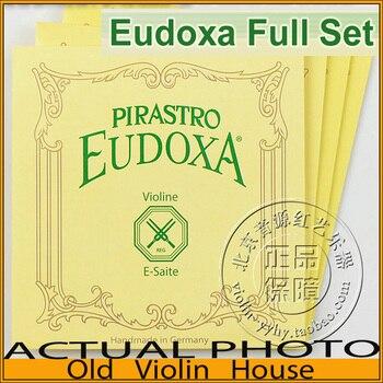 Original Pirastro Eudoxa Violin Strings(214021), full set,made in Germany,Hot sell
