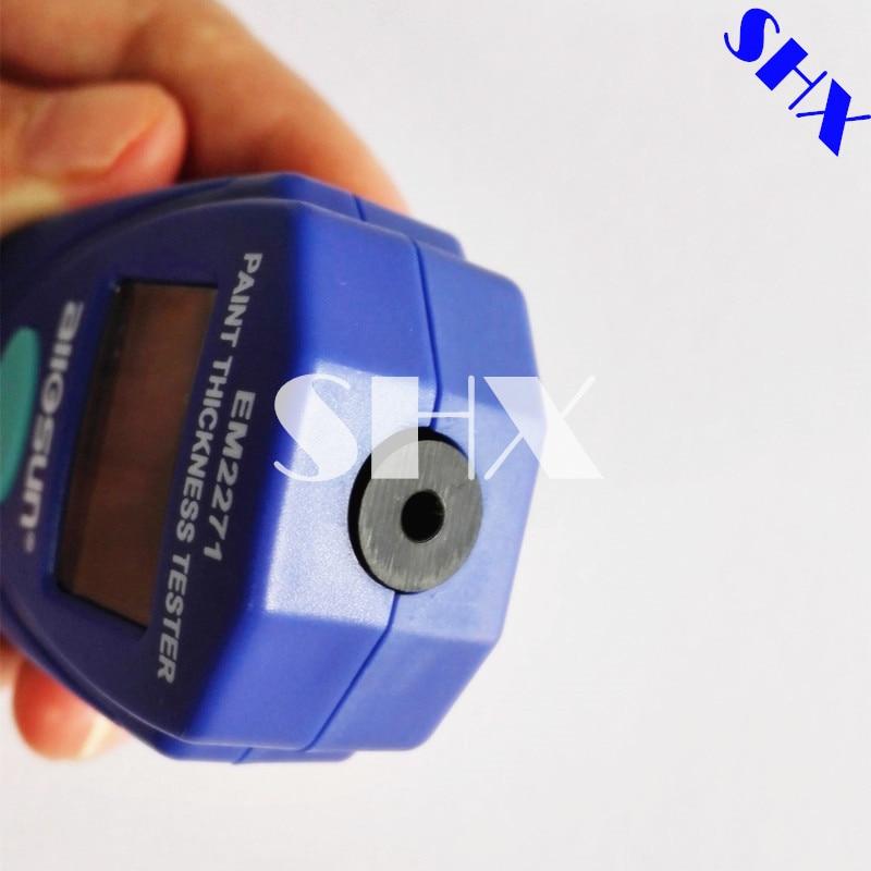 All-Sun EM2271 Imballaggio Al Dettaglio Digital Mini Car Pittura Spessore Tester Misuratore di Spessore di Rivestimento Misuratore di Spessore di Vernice Auto Auto