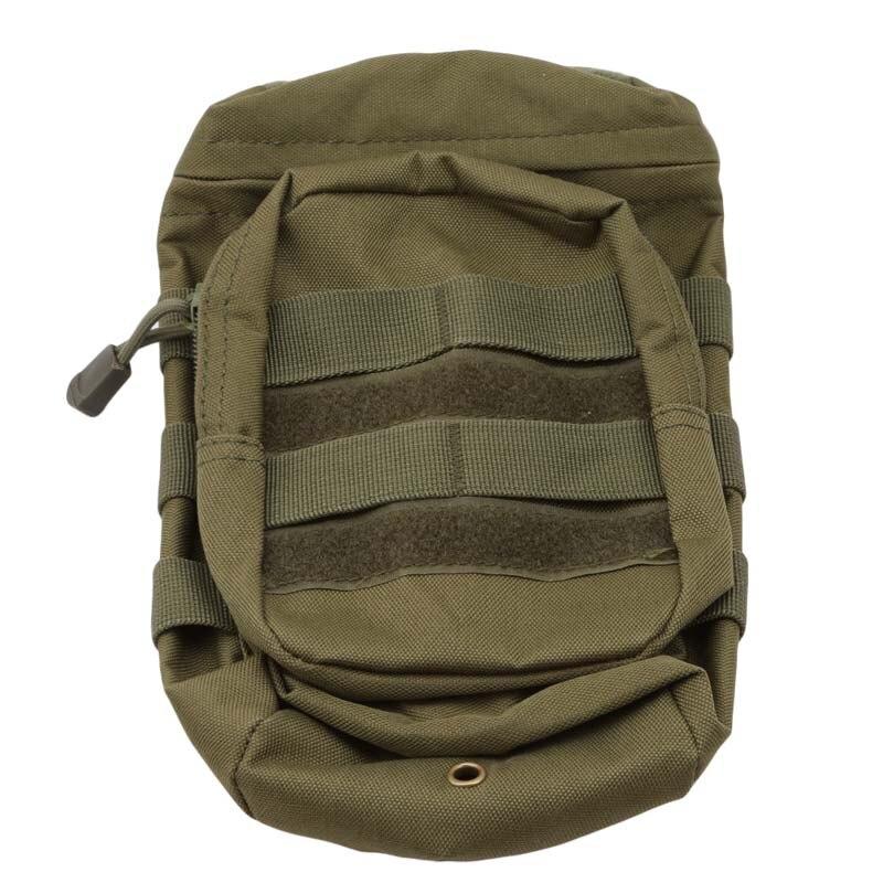 Ao ar livre molle garrafa de água bolsa tático engrenagem chaleira cintura ombro saco fãs do exército escalada acampamento caminhadas caça sacos viagem