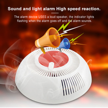 Independent Smoke Detector Standalone Photoelectric Smoke Al
