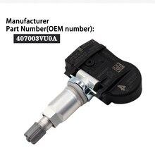 433MHZ pour Nissan NOTE QASHQAI TIIDA hayon X T Renault ESPACE V KOLEOS 407003VU0A systèmes de surveillance de la pression des pneus