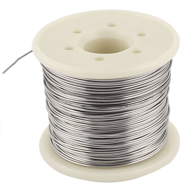 Nichrom 80 0,7mm 21 Gauge AWG 30 Mt Rolle 3,014 Ohm/m Heizung Draht ...