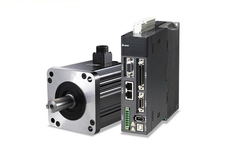ECMA-F11308SS+ASD-A2-1021-M DELTA brake CANopen AC servo motor driver kits 0.85kw 1500rpm 5.41Nm 130mm frame