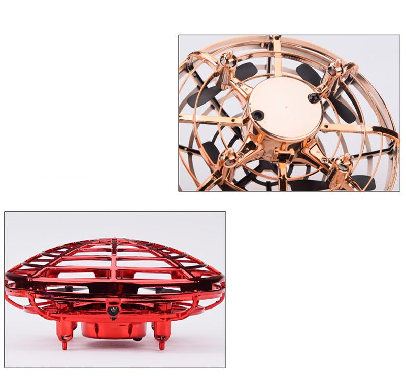 Mini Drone UFO helicóptero de juguete 5