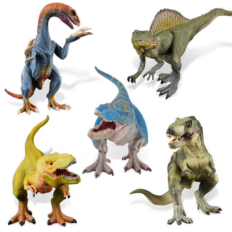 10 Kidns Simulation Big Size Dinosaur Figure Collectible Toys Animal Action Figures Kids Sandtable Scene Toy
