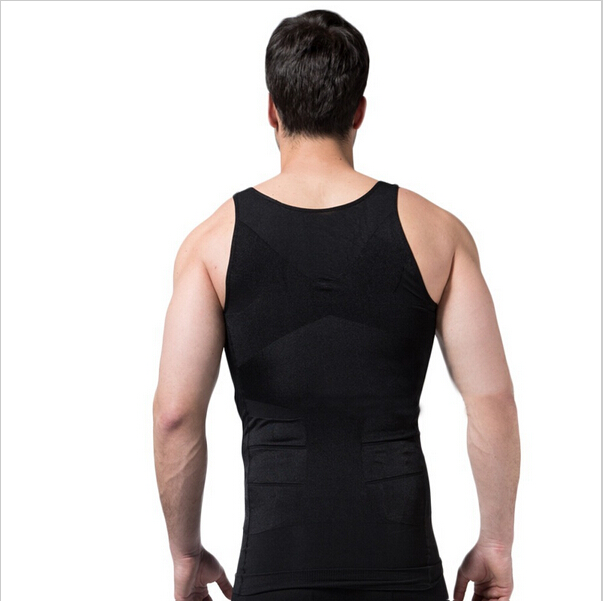 a6eee605245 New Mens Body Shaper Lose Tummy Belly Corset Loss Weight Vest Shirts  Sleeveless Underwear Men Firm-in Shapers from Underwear   Sleepwears on  Aliexpress.com ...