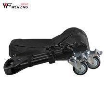 Weifeng WT 700 trois piédestal poulie rouleau trépied jambes caméra photographie roulettes trépied jambes roue glissière portant 30kg
