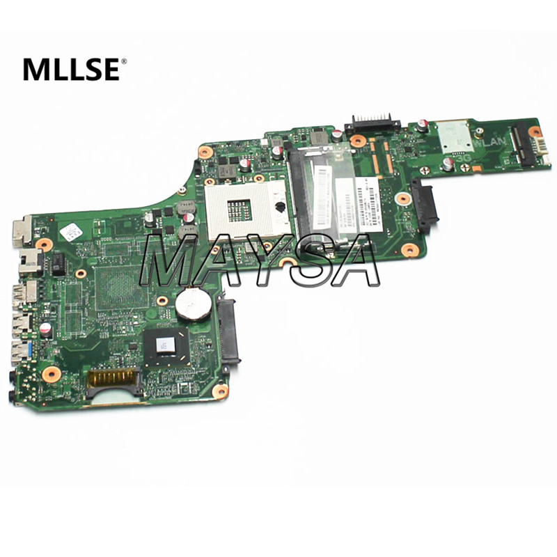 V000275070 Main Board Fit For Toshiba Satellite S855 C855 Laptop Motherboard HM76 DDR3 1310A2491321 h000042190 main board for toshiba satellite c875d l875d laptop motherboard em1200 cpu ddr3