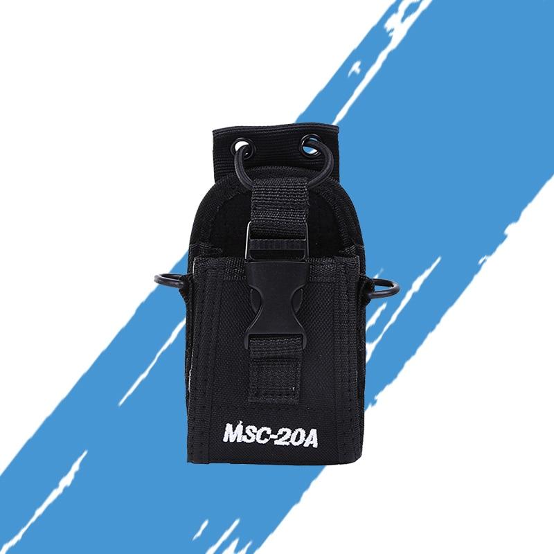 Genera KSUN MSC-20A Walkie Talkie Holder Pouch Case For Yaesu Motorola CB Radio BAOFENG UV-5R UV-5RE Plus UV-B5 UV-82 UV-B5