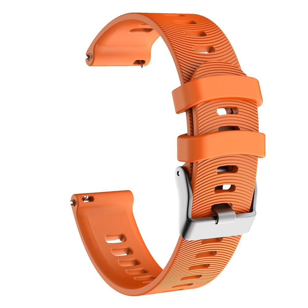 Soft Silicone Replacement Stripe Strap For Garmin Forerunner 245 245M 645 Wrist for Garmin Vivoactive3 3 Vivomove HR Smart wrist in Smart Accessories from Consumer Electronics