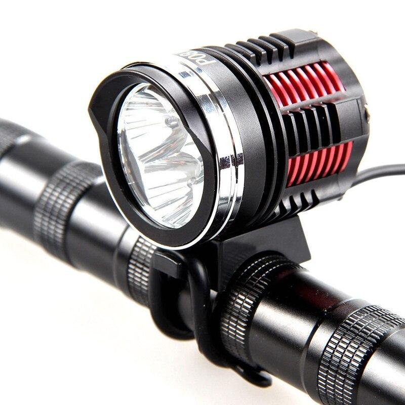 Lumières de vélo 3 T6 LED étanche phare de vélo tour de nuit 3 * L2 VTT lumières phare pièces de vélo