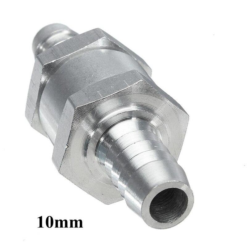 1 шт. 6/8/10/12 мм алюминиевый сплав топлива обратный клапан один способ Fit карбюратор цена оптовой продажи