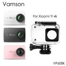 Vamson 40 m Caso Da Habitação Case de Proteção À Prova D' Água Câmera de Esportes de Mergulho Para Xiaomi para Yi 4 K 2 VP608K