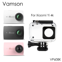 Vamson 40m Waterproof Case Protective Housing Case Diving For Xiaomi Yi 4K Sports Camera 2 VP608K