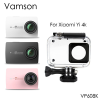 Vamson 40m Waterproof Case Protective Housing Case Diving For Xiaomi Yi 4K Sports Camera 2 VP608K