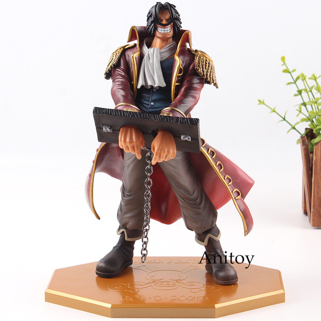 anime one piece p o p figure action gol d roger gold roger excellent