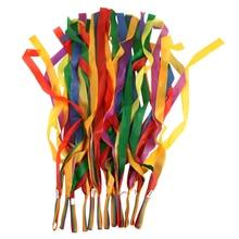 Rainbow-Ribbon Art-Gymnastic Exercises Fitness Sport-Dance Kids Gym Cheerleading New-Arrival