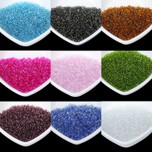 QIYIGE Small Czech Beads All Colors 2MM 1000pcs/Lot Austria Round Hole Crystal Bead For Kids DIY Jewelry Making