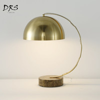 American Copper Colour Desk Lights Lustre Led Modern Decor Standing Lamp for Living Room Lampara Bedside Lamp Luminaria Lighting