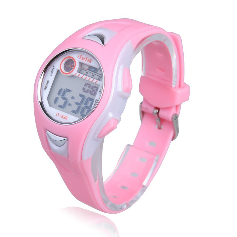 New Fashion Children Boys Girls Kids Studentd Swimming Sports Digital Wrist Watch Waterproof Sports Watches Gift Clock