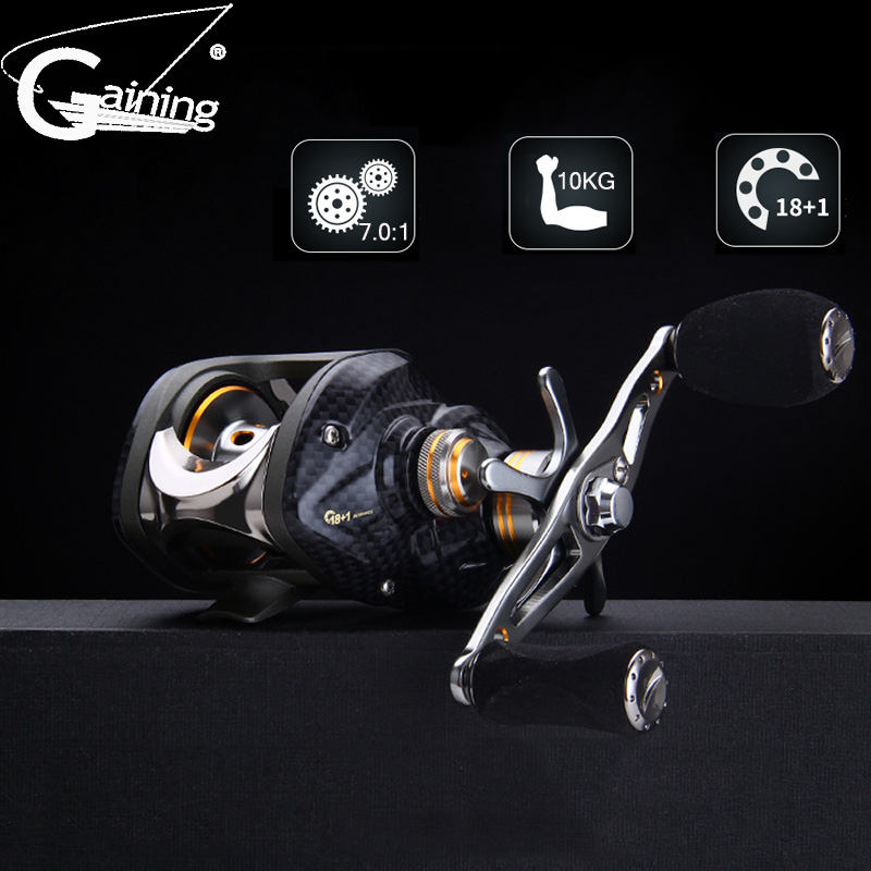 Right or Left Baitcasting Reels 18 1BBs 7 0 1 Bait Casting Fishing Reel Magnetic and