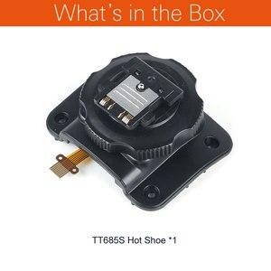 Image 2 - Godox TT685 חמה נעל הרכבה רגל עבור לתקן Godox TT685C TT685N TT685S TT685F TT685O סדרת Speedlite פלאש שואב דיזל ודל חלקי