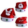 Новый 2017 Дети Санта-Снеговик Рождественские Hat Мальчики Девочки симпатичные Олени Рождество Новый Год Подарки Шапки Шапочка Для Детей Z1