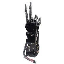 5DOF Bionic робот рука/коготь/манипулятор/5 пальцев независимое движение/установлен/DIY