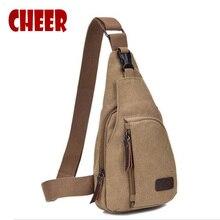 Новые нагрудные сумки, модные мужские холщовые сумки через плечо, мужские повседневные сумки через плечо, высокое качество, сумка на плечо для телефона, маленькая квадратная сумка