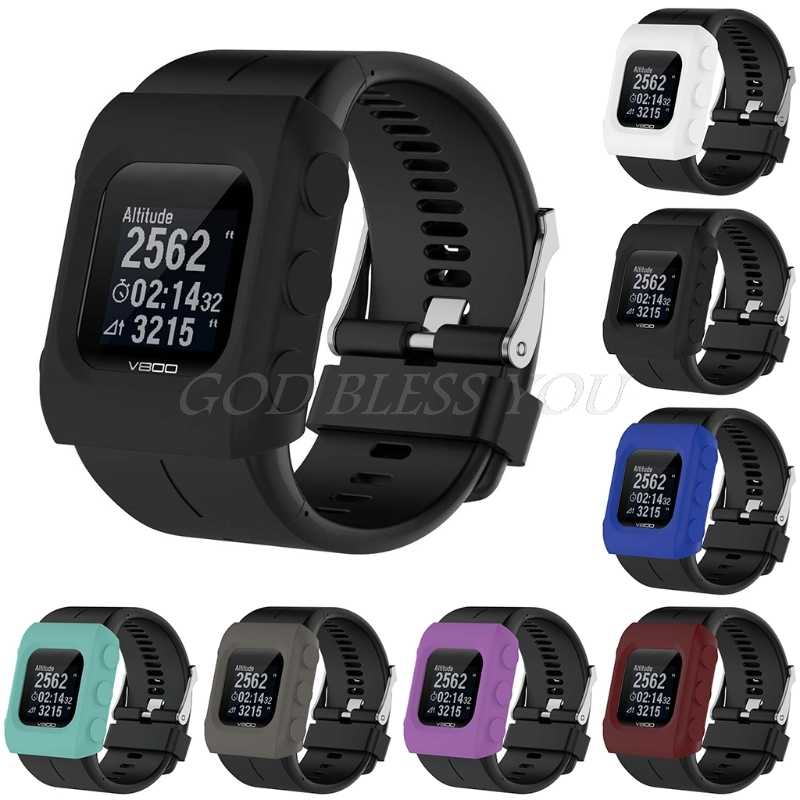 Colorful Silicon Protective Skin Case Cover for Polar V800 GPS Sport Smart  Watch Drop Ship