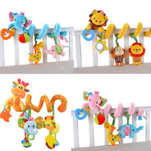 Early Development Soft Infant Crib Bed Stroller Toy Spiral Baby
