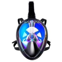 Adults Swimming Diving Mask Children Snorkeling Set Anti fog anti UV Diving Full Dry Snorkel Full scale Mirror Equipment