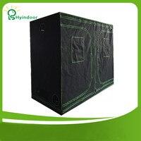 Hyindoor Садовые принадлежности Greenhous алюминиевая рама 240*200*120 (96*48*78 дюймов) тент mylar Гидропоника теплицы