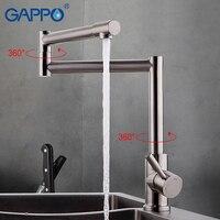 GAPPO 1set Water Kitchen Sink Faucet Mixer Drinking Water Tap Kitchen Faucet Tap Cold Hot Water