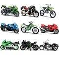 Maisto 1:18 kawasaki h2 r/vulan 2000/kx 250-f/klx-250sr/zx-9r/zx-10r/zx-12r/zx-14r/die-moldes modelo colección de moto