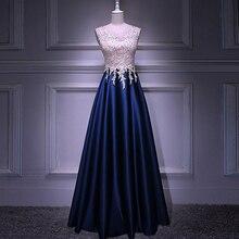 Настоящее изображение, длинное вечернее платье трапециевидной формы с бисером, лиф со стразами, на молнии сзади, вечерние, элегантные, новинка, vestido de festa, платья для выпускного вечера