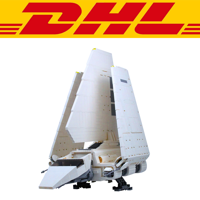 2503Pcs Star Wars Figures Imperial Shuttle Model Building Kits Blocks Bricks Toys For Children Christmas Gift Compatible 10212 krennic s imperial shuttle building bricks blocks toys for children boys game plane weapon compatible with lepins diy model