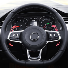 New style Metal For VW GOLF GTI 7 R GTD GTE MK7 POLO 6C Passat B8 R-line Scirocco Steering Wheel Paddle Extension Shifter