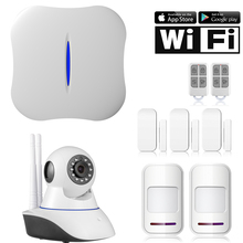 Etiger W1 WiFi PSTN Home Burglar Alarm System Kit phone APP remote Control for Home Security 133Kit